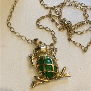 Lilly Pulitzer Frog Necklace